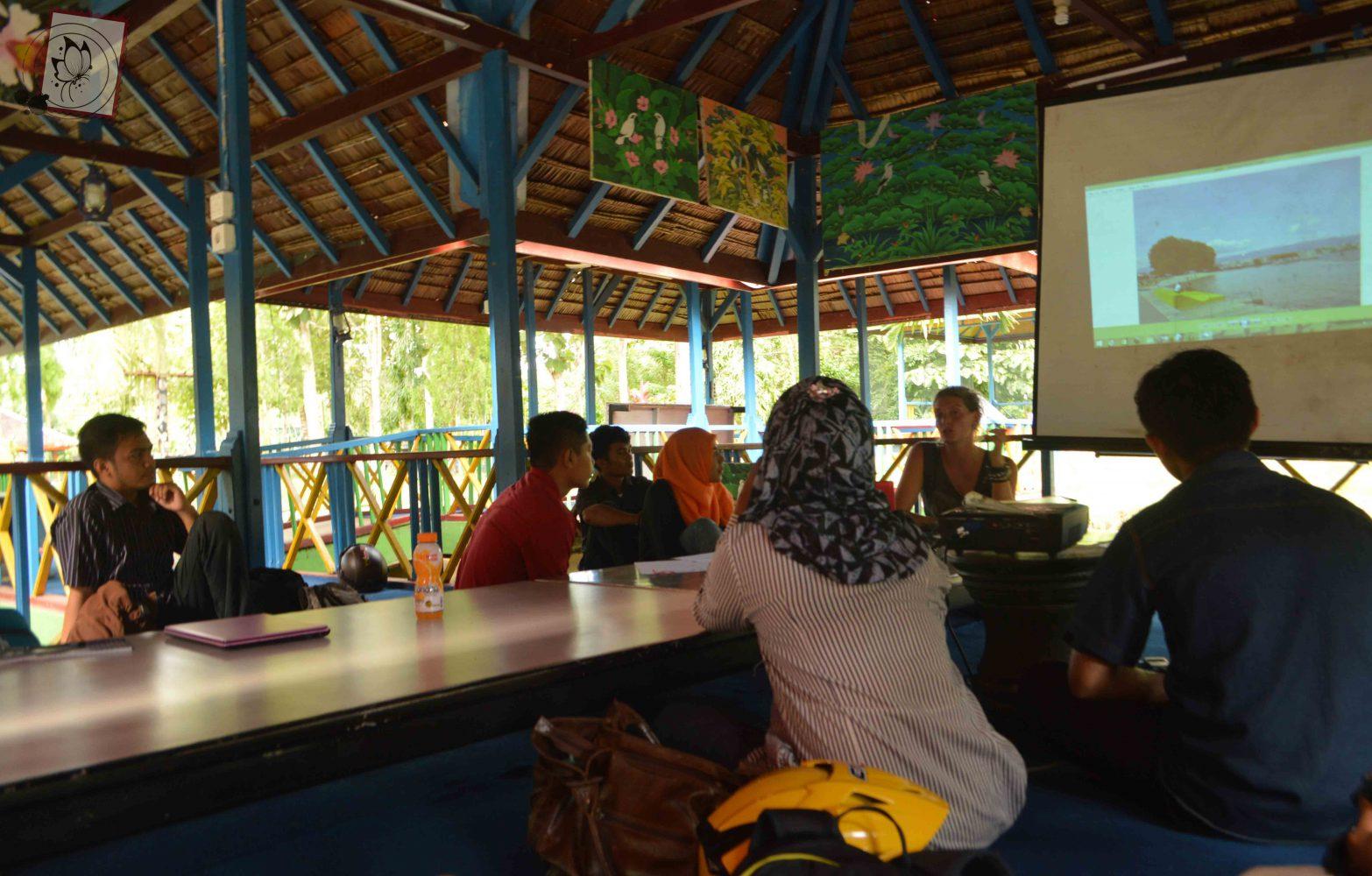 Workshop à Kendari (Sulawesi) avec Focil (2016)