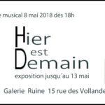 Expo à RUINES mai 2018